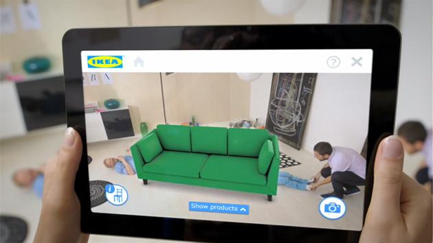 Ikea bringt mit seinem 2014 Katalog die Möbel digital nach Hause