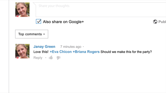 Google+ Youtube Kommentare