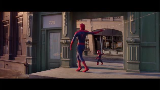 evian-spider-man