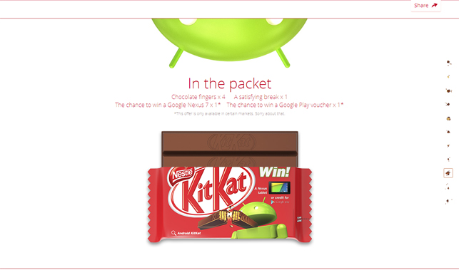 Google Android Update: Kitkat