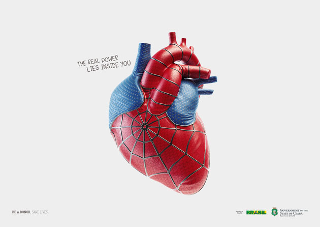 The real power lies inside you. Be a donor. Save lives