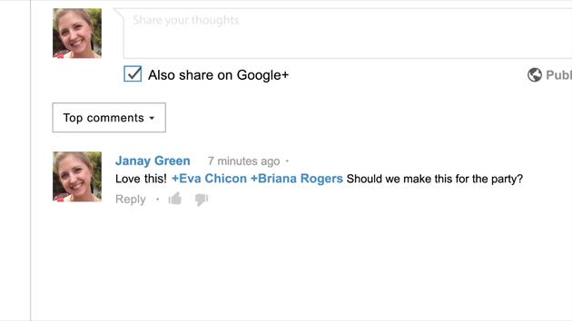 Google+ Youtube Kommentare